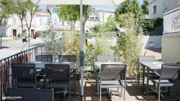 Terrasse - Café de la Place, Marseille
