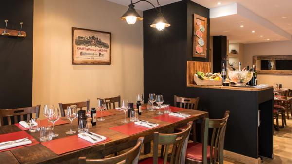Salle du restaurant - Bistrot Chaud-Vin, Nice