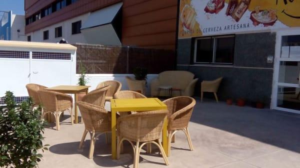 Vista terraza - Cervezas Alegría, Massanassa