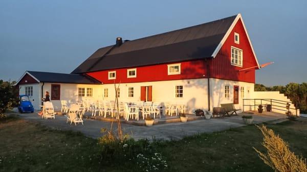 Ingang - Vegars Restaurang, Gotlands Tofta