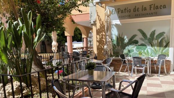 El patio de la Flaca, Marbella