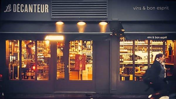 Façade - Le Décanteur, Montrouge