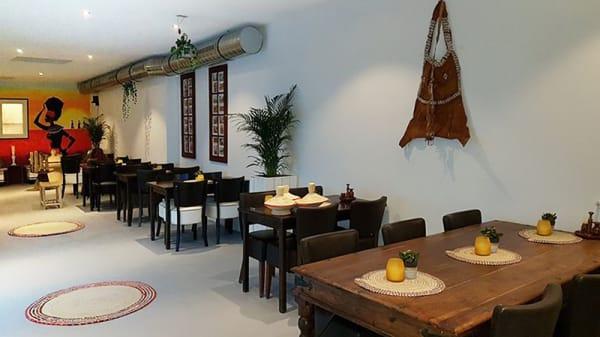 Het restaurant - Oost Afrikaanse Restaurant Asmara, Eindhoven