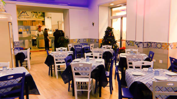Vista sala - Pizzeria I di Napoli, Naples