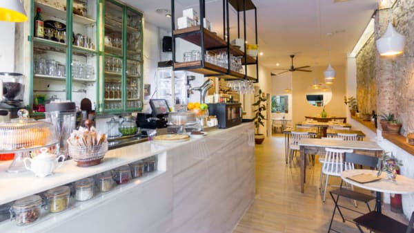 Vista de la sala - Dual Café, Barcelona
