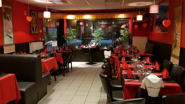 Vue de la salle - Sayori Sushi, Kontich
