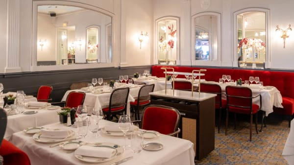 Vue de la salle - Au Petit Marguery - Rive Gauche, Paris
