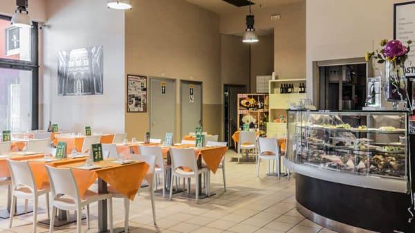Vista sala - Caffè Terre di Masaccio, Firenze