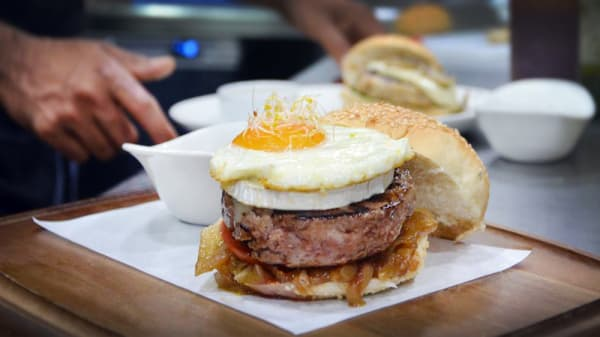hamburguesa 1 - Filburg Diagonal Mar, Barcelona