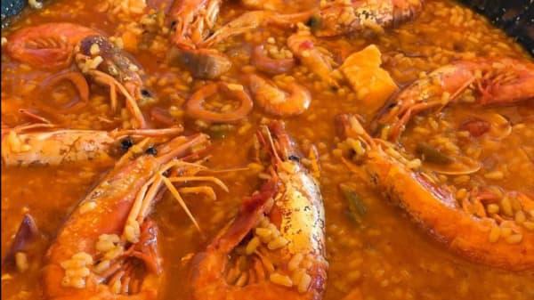 Sugerencia del chef - Chiringuito El Galeon del Centollo, Zahara De Los Atunes