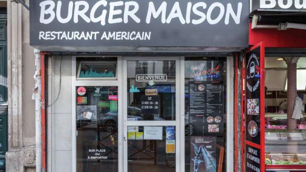 Entrée - avec amour - le burger, Paris