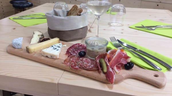 Suggestion de plat - Fromagerie de la Charité Mons, Lyon