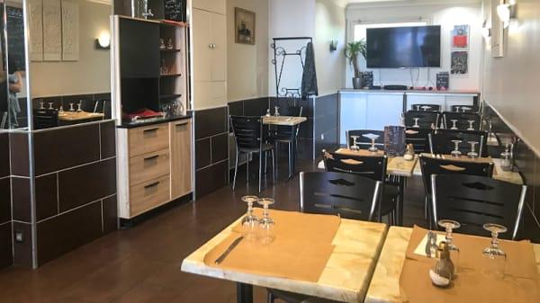 Salle du restaurant - Le Salvador, Alfortville