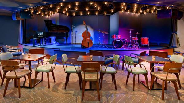 Jazz Club scène - Le Jazz  Club Étoile, Paris