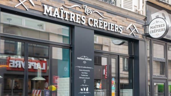 Entrée - Les Maîtres Crêpiers, Paris