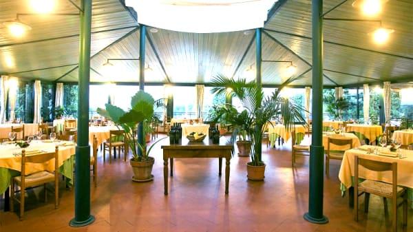 Vista sala - Ristorante dei Merli, Sovana