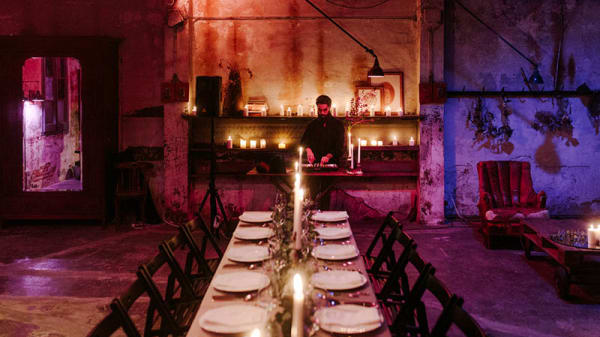 Vista sala - Clandestine Dinner Party Barcelona, Barcelona