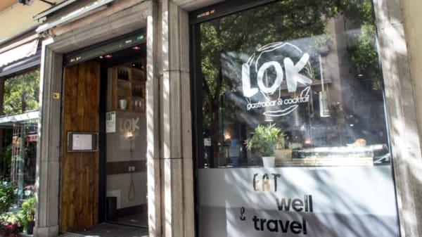 Entrada - Lok Gastrobar, Madrid