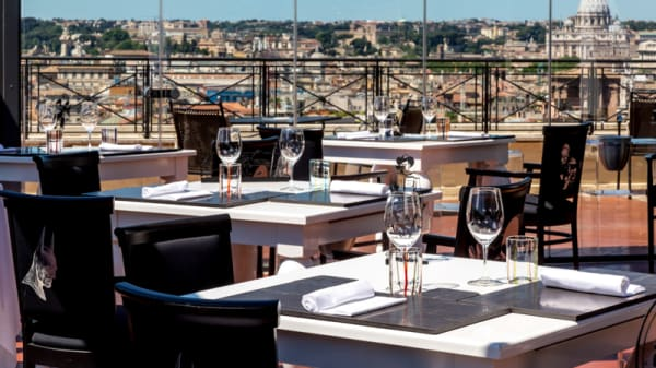 Terrazza - The Flair - Rooftop Restaurant, Roma