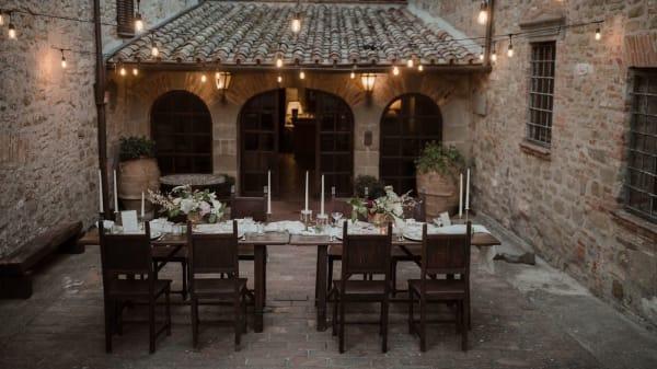 banchetto esterno - Relais La Fattoria, Castel Rigone