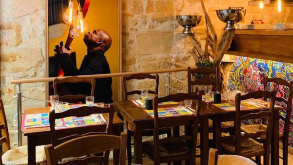 Salle du restaurant - Bonito y Sabroso, Paris