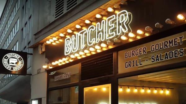 Devanture - Le Butcher Madeleine, Paris