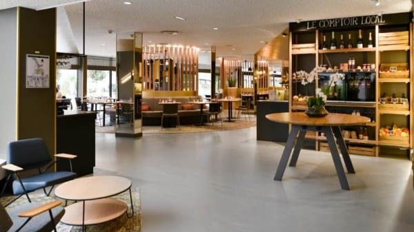 Salon du restaurant - CNOCE, Collégien
