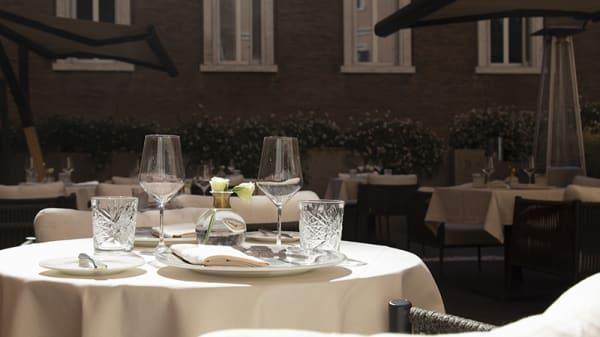 Vista della sala - Donna E Bistrot - Bar Bacharach, Roma