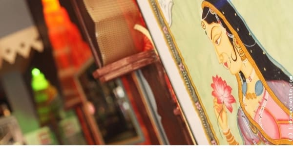 Détail de décoration - Restaurant Himalaya, Paris