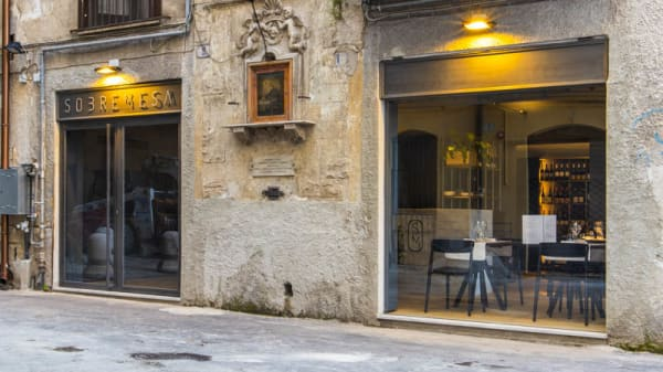 Entrada - Ristorantino Sobremesa, Palermo