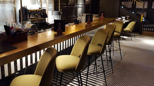 Vue de la salle - Le Bar du Liège, Paris