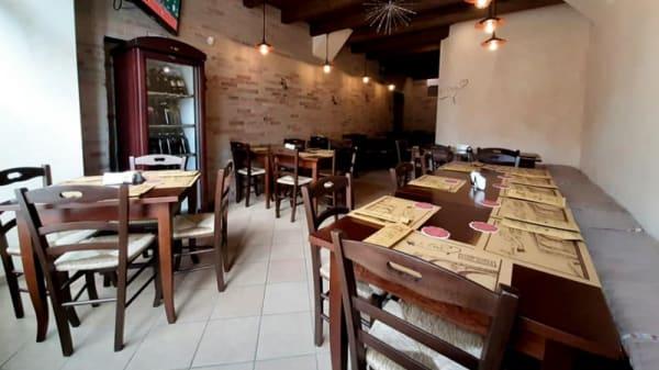 Vista sala - Anema e Core pub, Andrea Di Conza
