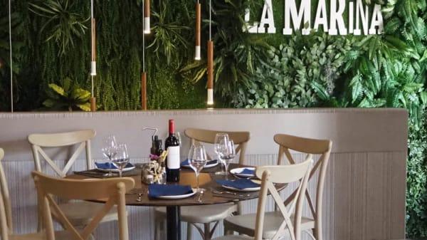 vista de la sala - Restaurante La Marina, Málaga