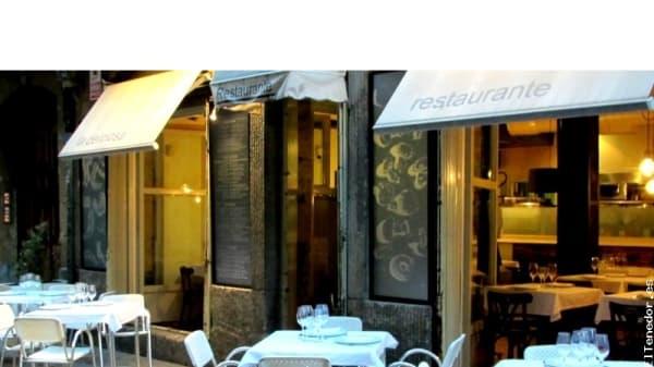 La fachada - La Deliciosa, Bilbao