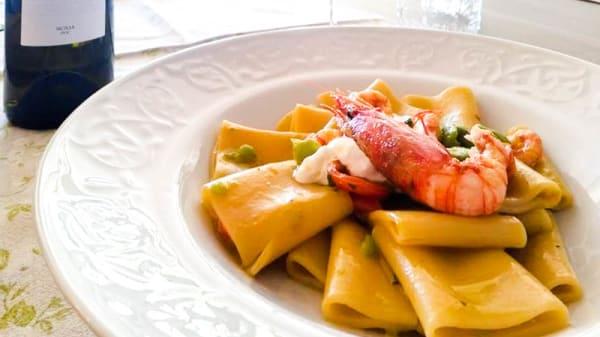 Paccheri al gambero rosso - Ciciritto, Cinisi
