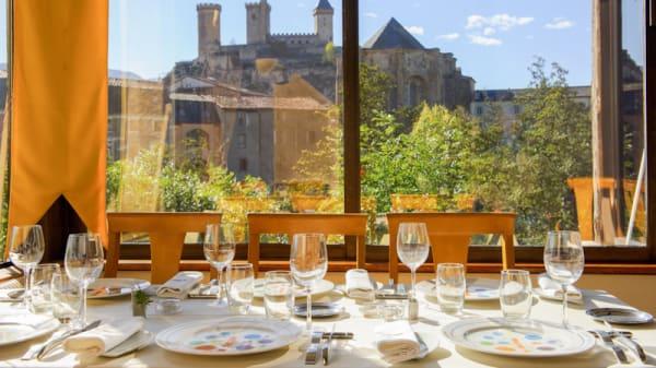 Vue table - Le Phoebus, Foix