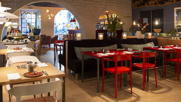 a restaurant - a Restaurant, Barcelona
