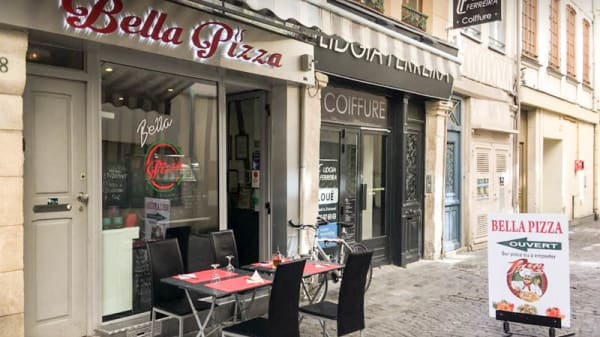 Devanture - Bella Pizza, Rouen