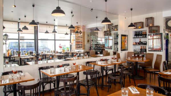 Salle du restaurant - Apollonia, Paris