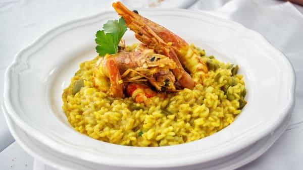 Paella carne e pesce - Ristorante Sociale, Caronno Varesino