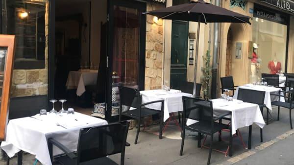 Place de l'établissement - La Menara, Aix-en-Provence