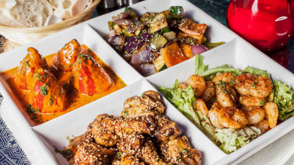 Mezzes sghon - warme Marokkaanse tapas. - Restaurant MOZO, Ámsterdam