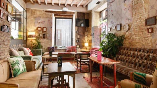 Zona de cafetería - Lemon Rock Bar, Granada