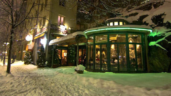 The restaurant - Greken på hörnet, Stockholm