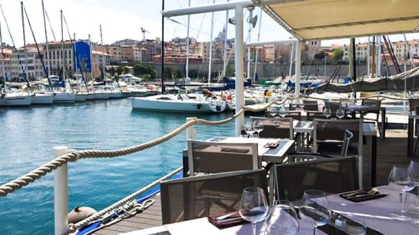 Terrasse - O'2 Pointus - Restaurant du CNTL, Marseille