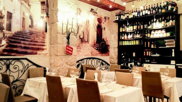 Vue de la salle - Il Vicoletto, Nice
