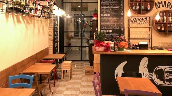Vista sala - Vinoteca Tempere con Cucina, Rome