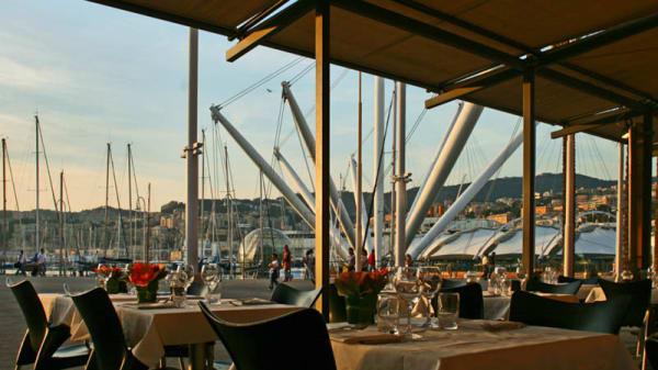 terrazza - I Tre Merli Porto Antico, Genoa