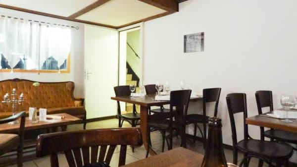 Intérieur - Café du Marché, Fribourg