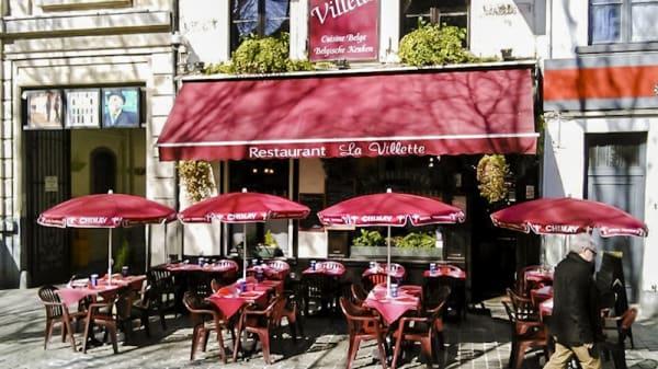 Devanture - La Villette, Bruxelles